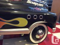 "Rare ""Snap on "" branded , new all steel pedal car. No"