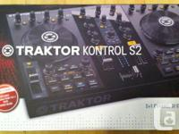 Mint Traktor S2 with Rare DJ TechTools package for