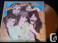 $20. Boston Third Stage Picture LP Mint! $20. Glass