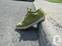 "This listing is for original Nike SB ""Frog"" sneakers in"