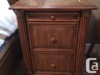 Very good condition. Queen-sized bedroom set. Includes