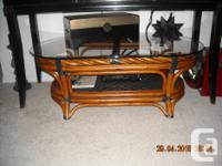 Sofa, love seat, chair, coffee table and end table,
