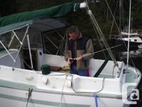 Rawson 30' Sailboat. Fiberglass, Volvo MD2B diesel