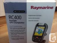 Raymarine RC400 GPS Chartplotter. Handheld or use in