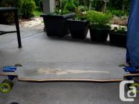 Selling my hardly used Rayne Amazon.com Longboard.