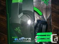 Razer electra, a headset designed by a gaming company