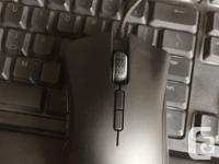 Taser keyboard and mouse for sale, willing to sell both