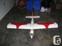 Comprehensive ready-to-fly Remote Controled plane with