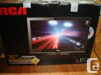 "26"" RCA LED TV-DVD dvd gamer built in to television and"