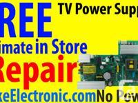 RCA TV Repair Call Duke  Www.DukeElectronic.com RLED