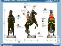 Hello, the RCMP Chess Set was introduced in 2006, over