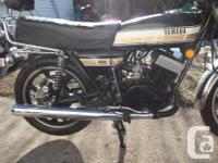 yamaha rd400 1976 acquired new in 1976 rebuilt 3 years