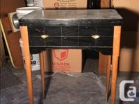 Re-Furnished Side table! 24L x 17W x 30H Coffee stained