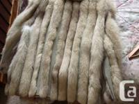 Marketing this magnificent fur layer. Made of Arctic