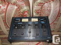 This unit has 3 MICROPHONE inputs, 2 PHONO, 2 TAPE/AUX