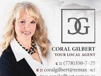 Coral Gilbert -REALTOR® RE/MAX Camosun YOUR LOCAL