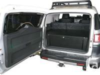Back cargo box from Tuffy customized for Toyota FJ