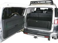 Rear payload box from Tuffy custom-made for Toyota FJ