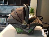 Hi I am selling my rear-facing infant car seat with