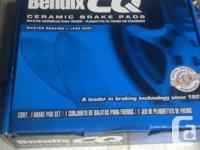 BNIB, back Bendix CQ ceramic pads and Ultra rotors for