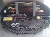 Offer my alpine rebel compound bow with 80 pound draw,