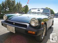 Make MG Year 1977 Colour Metalic Jaguar Racing Green