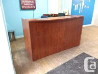 Front / Reception Desk - $400.00 OBO Has 2 Side