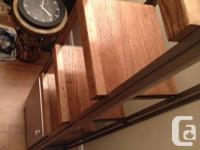 I have a custom built reclaimed oak shelving unit hand