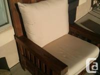 (4pc) Beautiful Reclaimed Teak Patio Furniture Single