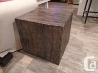 I make quality, forever-furniture using reclaimed wood