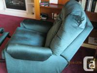 An El ran recliner/rocker available. this chair is in