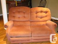 Recliner couch available for pick up only. It is