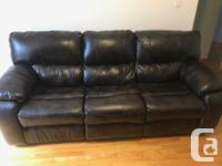 I have a recliner couch plus chair for sale. Lightly