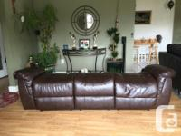 I have this brown reclining couch that I bought 2 years