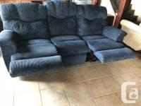 Alford's reclining sofa in excellent condition.