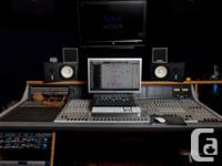 Professional 32x8 Console. D&R Orion. Paid 30k. Many