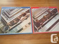 Have for sale 2 Double lps from the Beatles Red