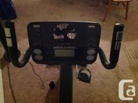 Weslo Pro 10.8 Recumbent bike in brand new like