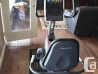 Freemotion 310R Recumbent exercise bike. Like new.