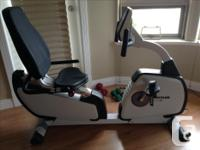 Kettler Giro R recumbent cycle purchased from Costco