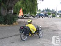 Optima Rider Trike for sale. Made in Holland. Drum