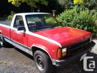 Make Dodge Model Dakota Year 1991 Colour Red kms