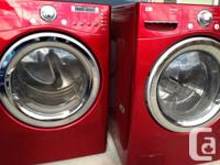 NO PAYPAL REQUESTS APPROVED  LG Red steam washer as
