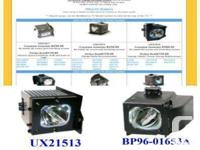 Bulbs and Lamps for most consumer DLP or LCD Rear