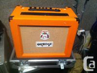 Orange Rocker 30 combo amp offer for sale, with custom