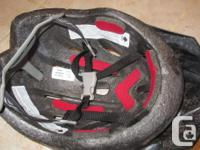 For 52-54cm head sizes Foam padding Adjustable straps