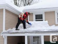 Residential Rooftop Snow Removal. Don't wait for