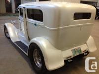 "1928 Ford Model ""A"" - 2dr. sedan body - Pearl White -"