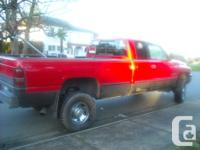 Make Dodge Model Ram 2500 Year 1999 Colour Red Trans