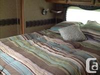 """2010 Puma trailer 43""""9' sleeps 10. Rear master bedroom"""
